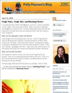 Polly Pearson's Blog