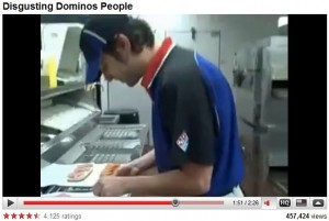 Domino's Disgusting Employee Video